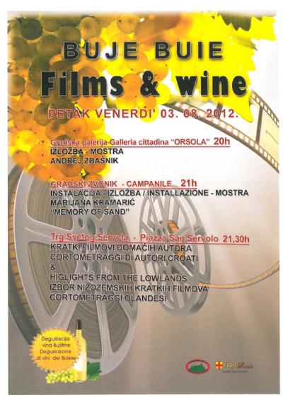 Film and wine