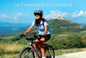 La parenzana in bicicletta m