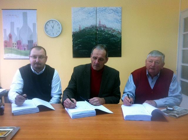 Potpis ugovora vodoprivreda grad buje