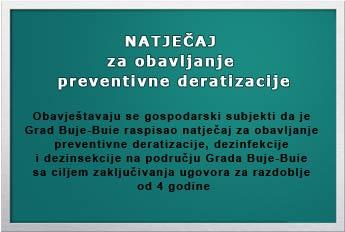 Natjecaj preventivna deratizacija 12 02 14