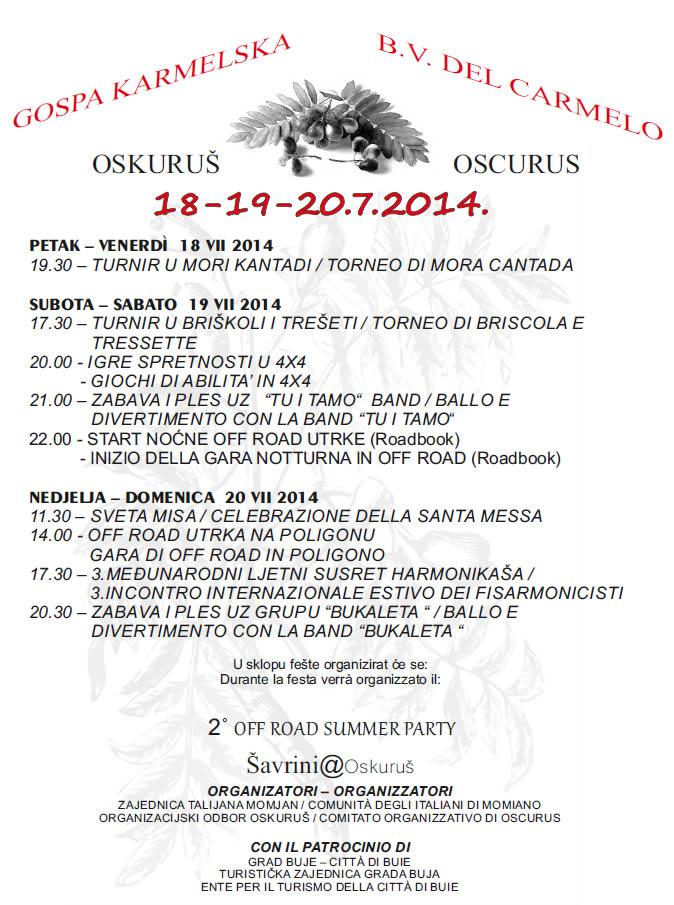Festa oskorus 140714