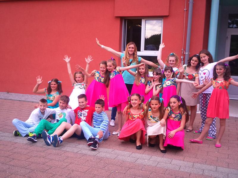 Plesna skupina Fly team na  4. Plesomaniji u Buzetu