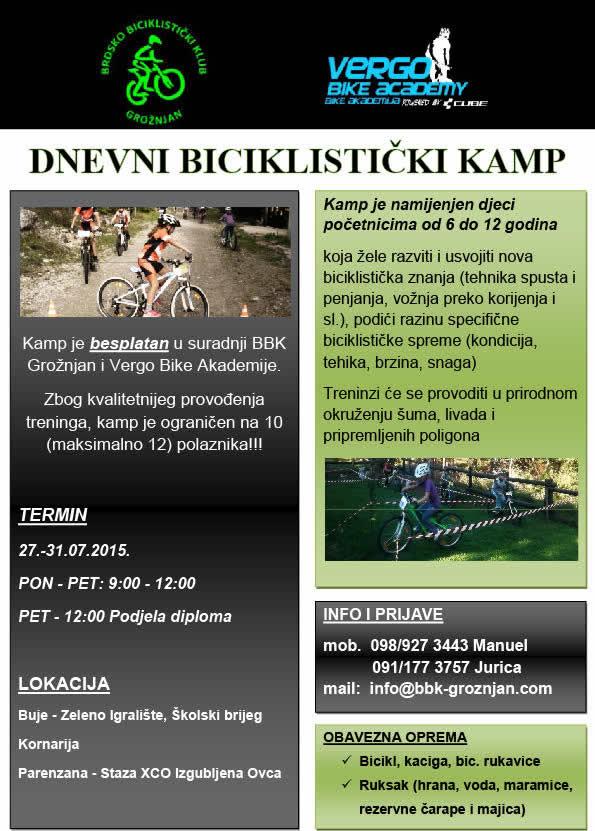 Dnevni biciklisticki kamp 17715