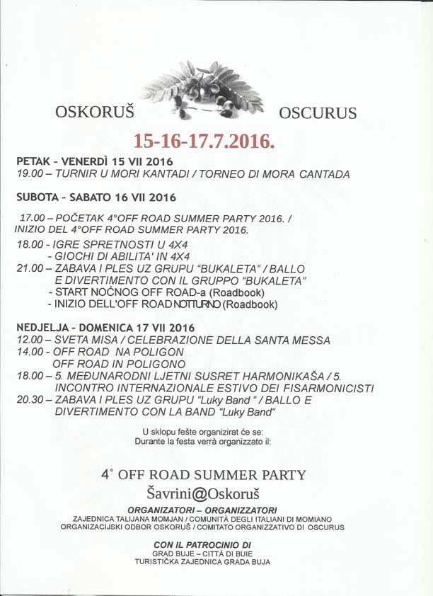 Oskorus festa 2016