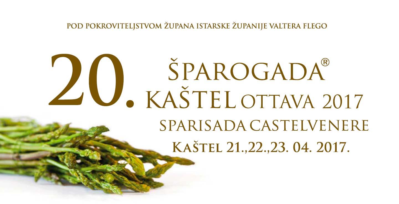 Sparogada 20 kastel 2017
