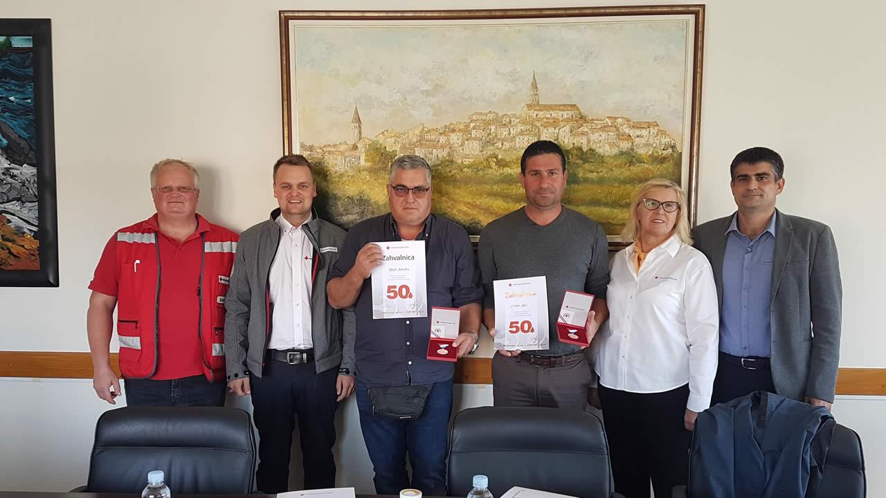 Darivatelji krvi kod gradonacelnika Buje 2018 1 home