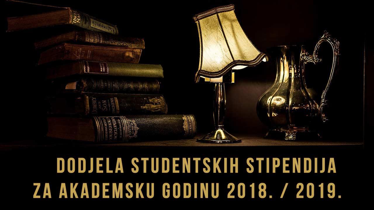 Dodjela studenstskih stipendija buje 18