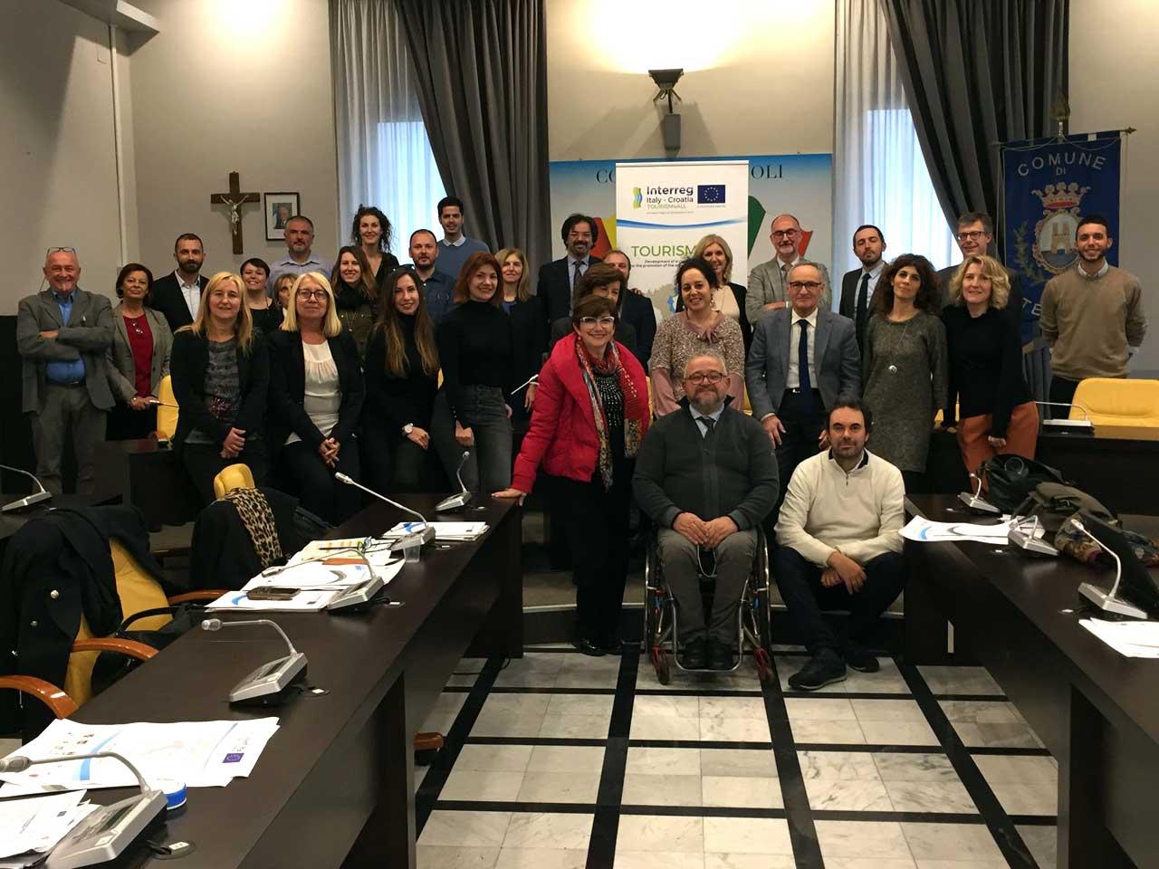 Termoli kick off meeting Tourism4All