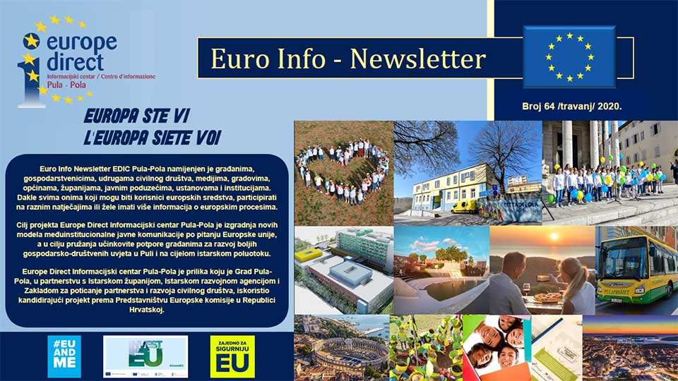 Euro Info Newsletter 64 hr 2020