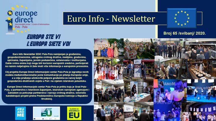 Euro Info Newsletter 65 hr 2020