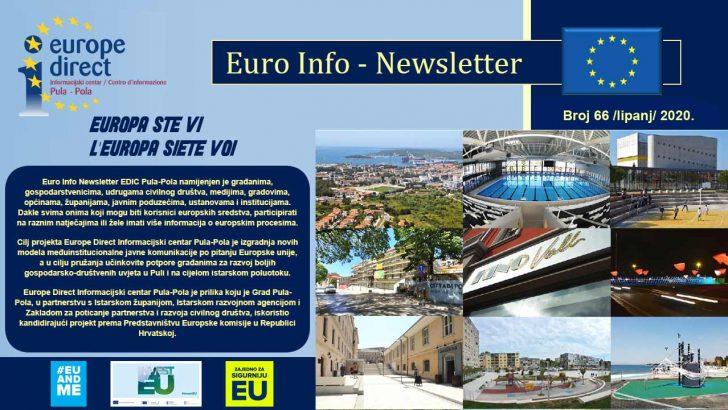 Euro Info Newsletter 66 hr 2020
