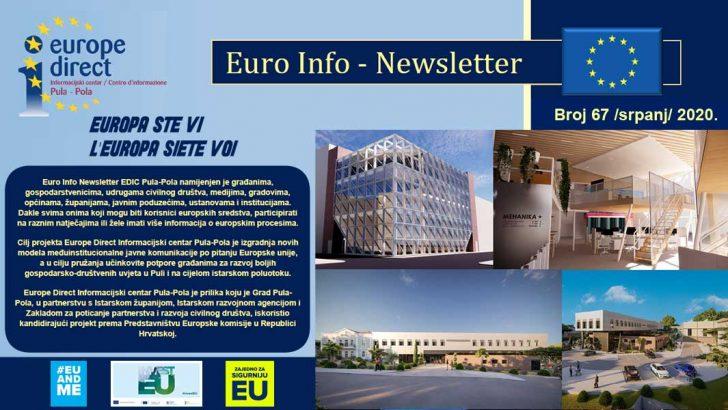 Euro Info Newsletter 67 hr 2020