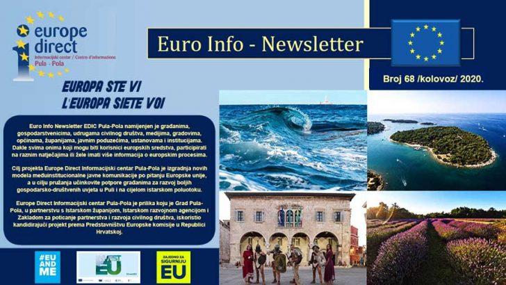 Euro Info Newsletter 68 hr 2020