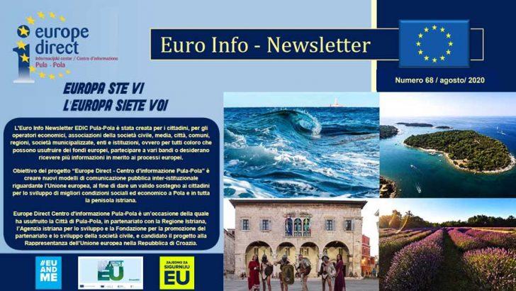 Euro Info Newsletter 68 it 2020