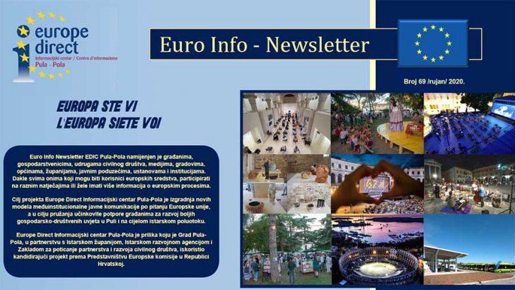 Euro Info Newsletter 69 hr 2020