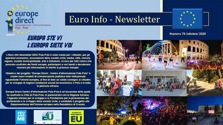 Euro Info Newsletter 70 it 2020