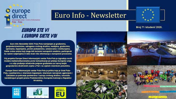 Euro Info Newsletter 71 hr 2020