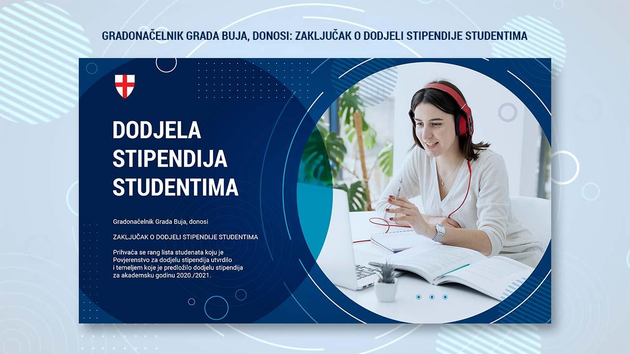 dodjela stipendija studentima