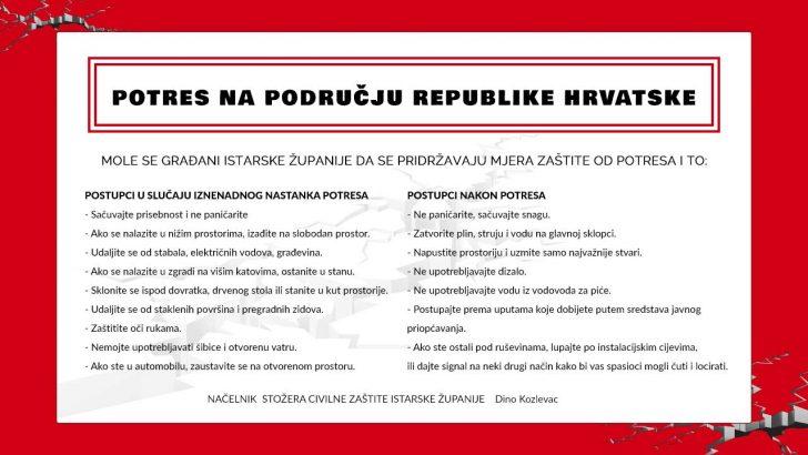 Potres na području Republike Hrvatske