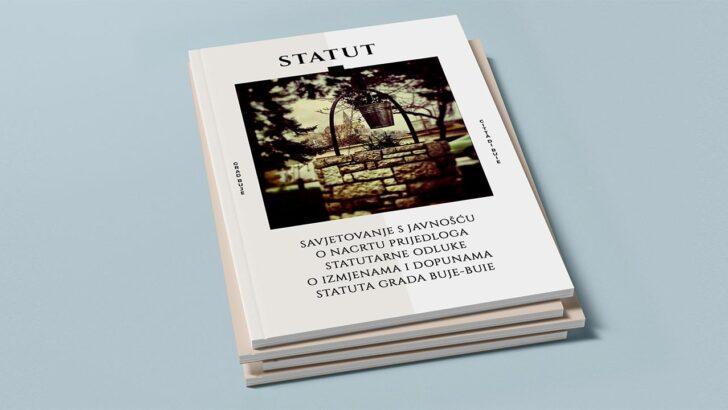 Savjetovanje s javnošću o nacrtu prijedloga statutarne odluke o izmjenama i dopunama Statuta Grada Buje-Buie