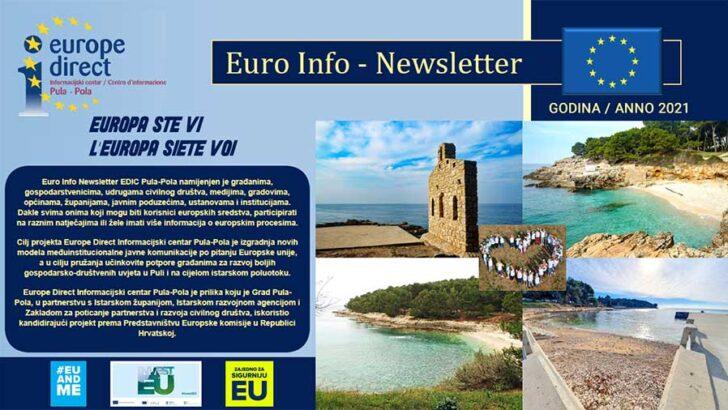 Euro Info Newsletter EDIC Pula-Pola 2021