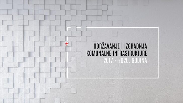 Održavanje i izgradnja infrastrukture na području Grada Buja - 2017. - 2020. godina