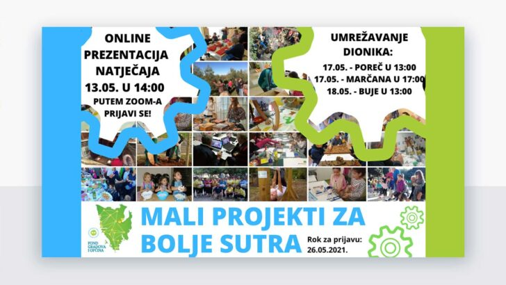 prezentacija natječaja za Male projekte u zajednici