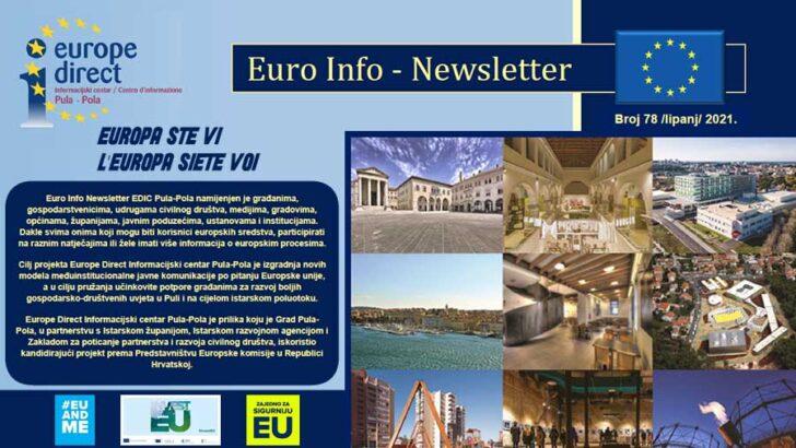 Euro Info Newsletter EDIC Pula-Pola, lipanj 2021. Broj 78