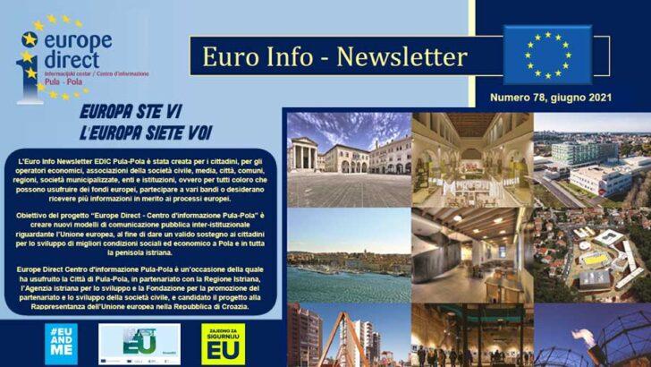 Euro Info Newsletter EDIC Pula-Pola – luglio 2021 – Numero 78