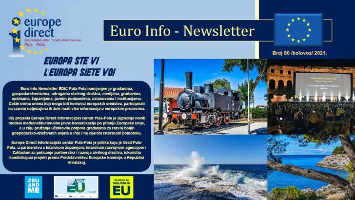 80. EURO INFO NEWSLETTERS EDIC PULA-POLA – 2021. GODINA