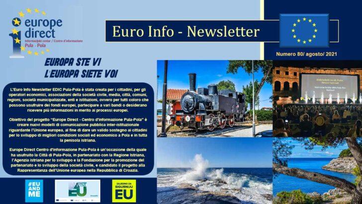 80. EURO INFO NEWSLETTERS EDIC PULA-POLA – ANNO 2021