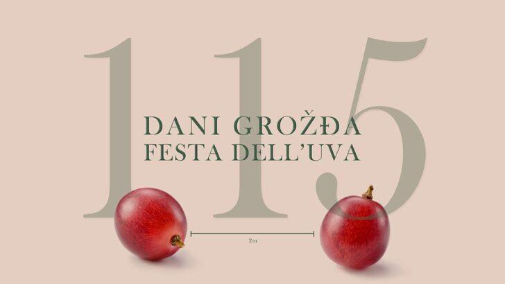 115. Dani grožđa / 115˚ Festa dell'uva