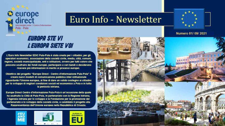 81. EURO INFO NEWSLETTERS EDIC PULA-POLA – ANNO 2021