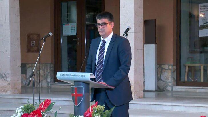 Gradonačelnik Fabrizio Vižintin