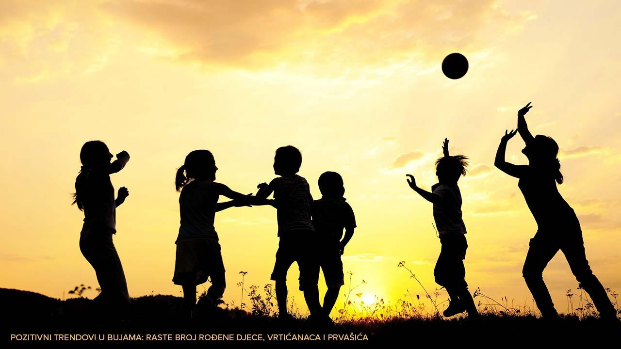 Pozitivni trendovi u Bujama: Raste broj rođene djece, vrtićanaca i prvašića