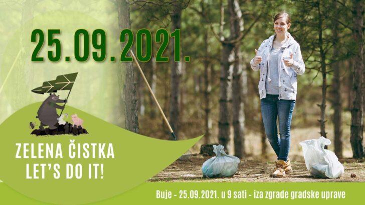 ZELENA ČISTKA – LET'S DO IT! - Buje – 25.09.2021.