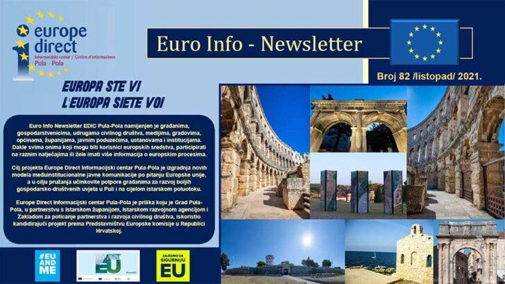 82. Euro Info Newsletter EDIC Pula-Pola, listopad 2021