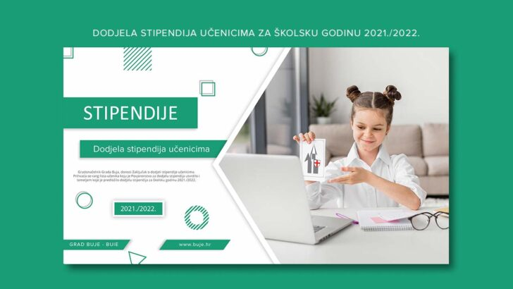 Dodjela stipendija učenicima za školsku godinu 2021./2022.