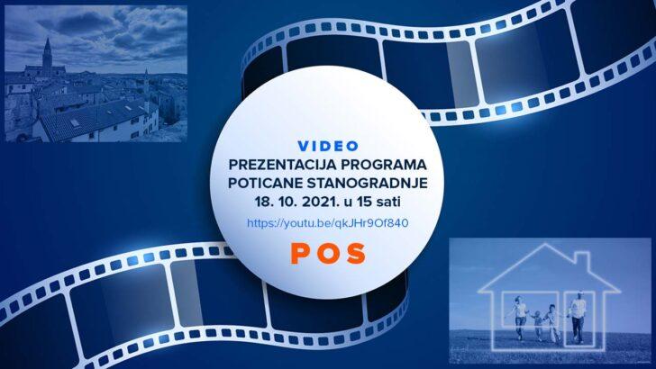 Videoprijenos prezentacije POS-a